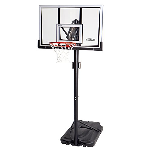 Lifetime 90061 Portable Basketball System, 52 Inch Shatterproof...