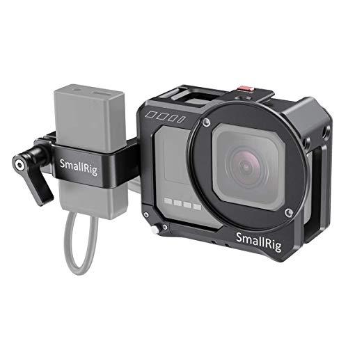 SMALLRIG Vlogging Cage e Mic Adapter Holder per Go Pro HERO8 Black - 2678