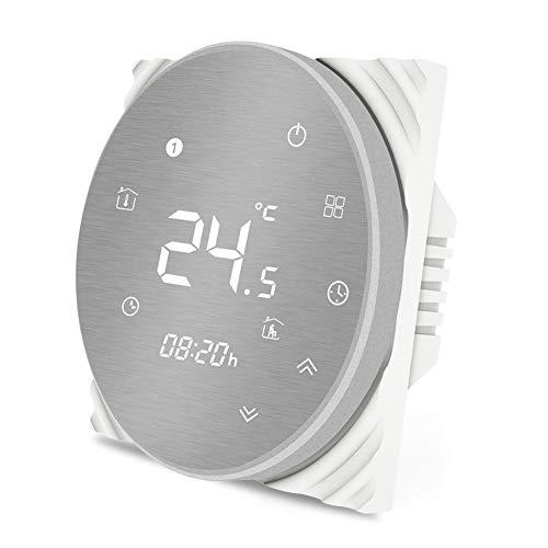 MOES Termostato inteligente Controlador de temperatura WiFi Panel...