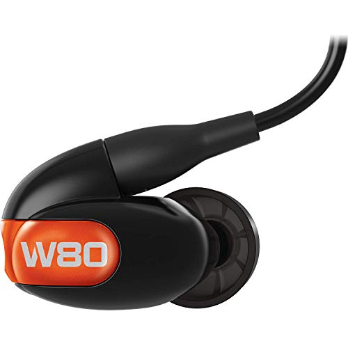 Westone W80 Eight-Driver True-Fit Earphones with ALO Audio and High-Resolution Bluetooth Cables Gen 2, Black (WST-W80-2019)