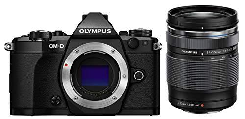 OLYMPUS ミラーレス一眼 OM-D E-M5 MarkII 14-150mm IIレンズキットブラック E-M5 MarkII 14-150mm IILK BLK E-M5MarkII1415IILKBK