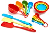 Fiesta 17-Piece Silicone Baking Set, Stainless (Kitchen)