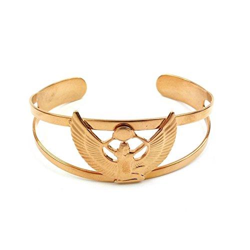 Pulsera Egipcia chapada en oro