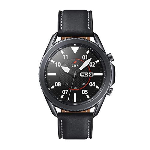 SAMSUNG Galaxy Watch3 - Smartwatch de 45mm, Bluetooth, Reloj inteligente Color Negro, Acero [Versión española] (SM-R840NZKAEUB)