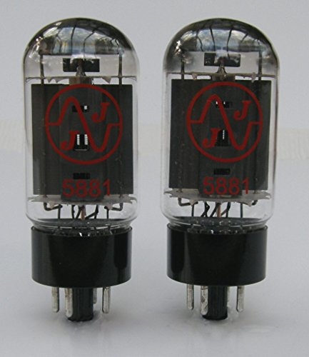 5881 Valve JJ Matched Pair TESTED NEW (2 x 5881)