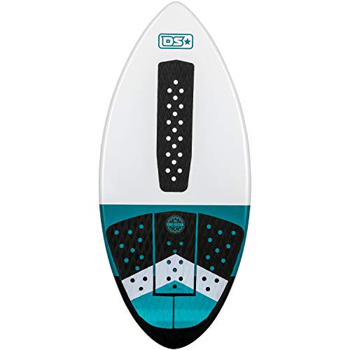 Driftsun Fiberglass Performance Skimboard - Performance Skimboard for Kids and Adults with EVA Traction Pad/Available in 44, 48, and 52 inch Sizes