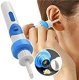 Kit de nettoyage de cérumen électrique KRY, nettoyant de cérumen avec sélecteur d'oreille pour bébés,...