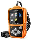 FOXWELL NT201 OBD2 Scanner Check Engine Light Car Code Reader OBD II Diagnostic Scan Tool 2020 Upgraded Version