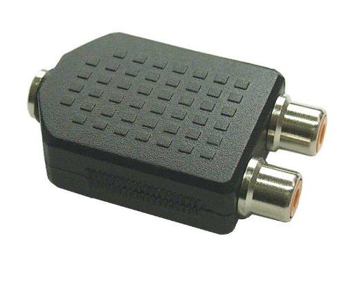 InLine 99346 Audio Adapter, 3,5mm Klinke Buchse Stereo an 2x Cinch Buchse