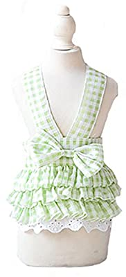 These dresses are only designed for SMALL dog breeds, so if your dog is MEDIUM or Large SIZE, the dresses is not recommended, this princess camisole tutu style design makes your puppy more attractive in the crowd and bring compliments from other peop...