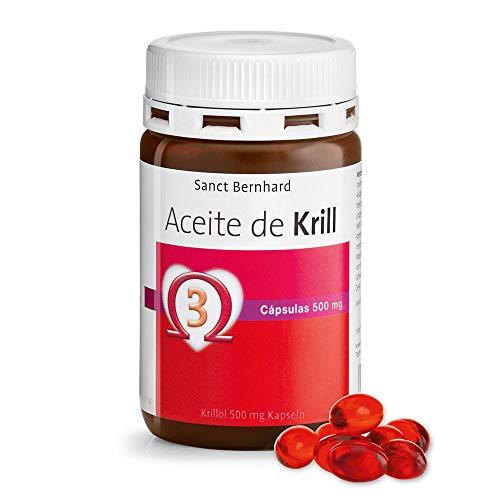 Aceite de Krill 500mg - 90 Cápsulas, 100% Neptune Krill Oil (NKO) fuente natural de Omega-3 del Antártico, con Astaxanthin