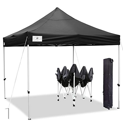 ALLINBOOST 10x10 Pop Up Outdoor Canopy Tent, Beach Canopy...