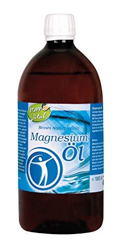 Kopp Vital Magnesium-Öl 100% Zechstein 1000 ml   vegan   für Anwendungen im Gesundheits- und Wellnessbereich   1ml enthält ca. 100mg Magnesium (Mg2+)