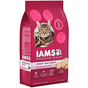 Iams 109105 3.5 lbs Proactive Health Adult Urinary Tract Health Dry Cat Food – 4 Count