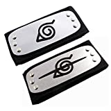 Jebester 2PCS Naruto Leaf Village et Anti Leaf Village Bandeau Ninja...