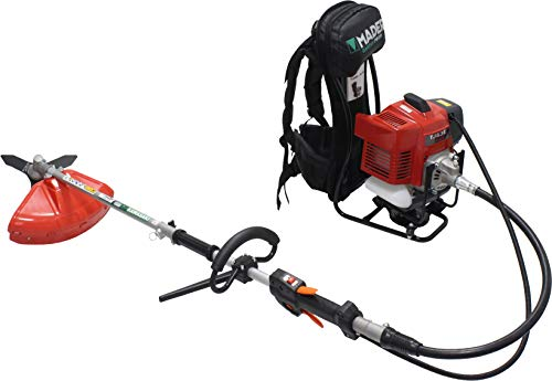 Mader Garden Tools 69297 Decespugliatore zaino multifunzione Kawasaki 53,2 CC 26 mm-69297