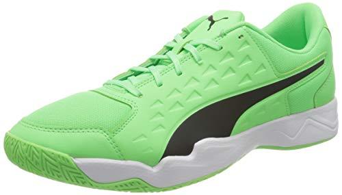 PUMA Auriz, Zapatillas de Fútbol Hombre, Verde (Electric Green Black White), 47 EU