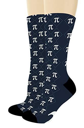 Math Gifts Symbol for Pi Socks STEM Gifts Nerdy Socks...