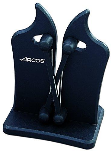 Arcos Sharpeners - Affûteur de couteau professionnel - Fait de ABS Couleur Noir