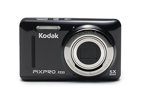 Kodak PIXPRO Friendly Zoom FZ53-BK 16MP Digital Camera (Black)