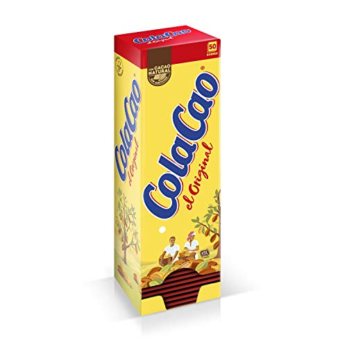 ColaCao Original: con Cacao Natural - 50 sobres de 18g