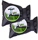 Morter Outdoor Faucet Cover, Outside Garden Faucet Socks for Freeze Protection, 8.7 x 7 Inch Reusable Waterproof Insulated Tap Cover for Winter Wall Water Spigot Cover【2 Packs】