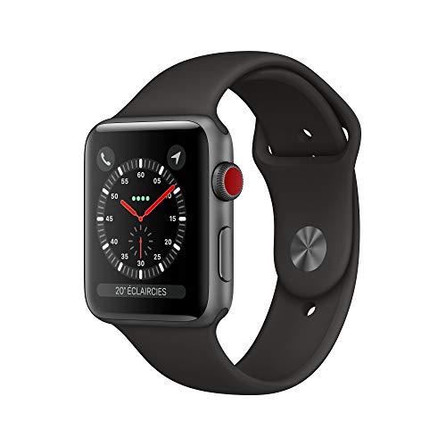 AppleWatch Series3 (GPS + Cellular), 42mm Aluminiumgehäuse, SpaceGrau,...