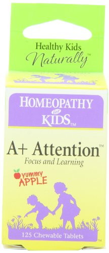 Herbs for Kids A+ Attention Tablets, 125 Count