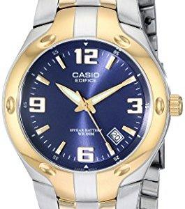 Casio Men's EF106SG-2AV Edifice Two-Tone Stainless Steel Watch 16