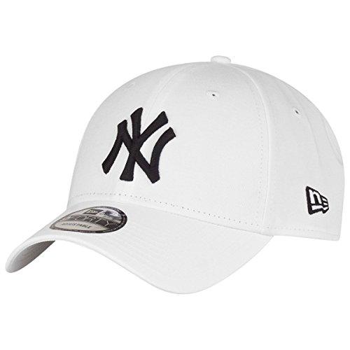 New Era New York Yankees - Gorra para hombre , color blanco (weiß/schwarz), talla única