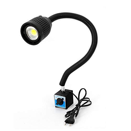 Drehmaschine Lampe YUNRUX CNC 220V Maschinenlampe Magnetische LED Arbeitsleuchte LED Werkzeug Maschinenleuchte Mit Flexibel Licht Arm einstellbar Magnetic Base