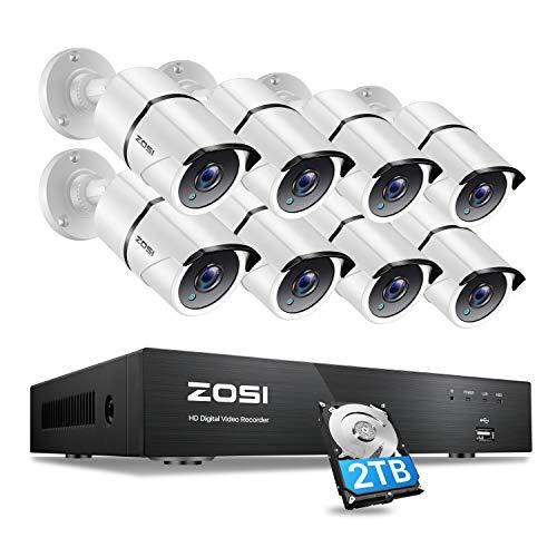 Cámaras de vigilancia de 20 canales