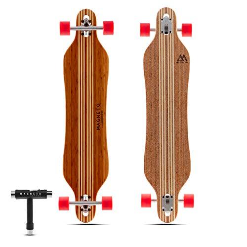Hana Longboard Skateboard Collection | Bamboo with Hard Maple Core | Pintail,...