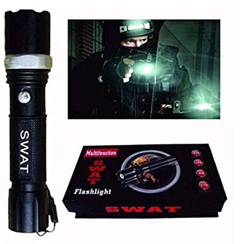 Lanterna Tática Militar Profissional Swat Police 1.5 Km
