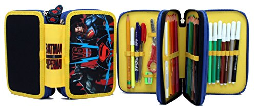 Astuccio 3 Zip Batman VS Superman