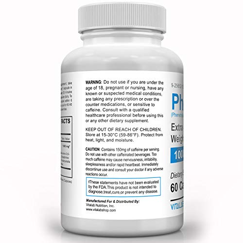 Phentremin, Extra Strength Weight Loss Complex, Best Appetite Suppressant, 37.5, 60 Capsules 2