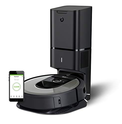 iRobot Roomba i7556 - Robot aspirador, color plateado