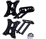 Avekin Heavy Duty TV Wall Mount Stand for 14 to 40 inch LCD/LED/Monitor/Smart TV, Universal Full Motion Rotatable Monitor Wall Mount Bracket (Black-AVE14)