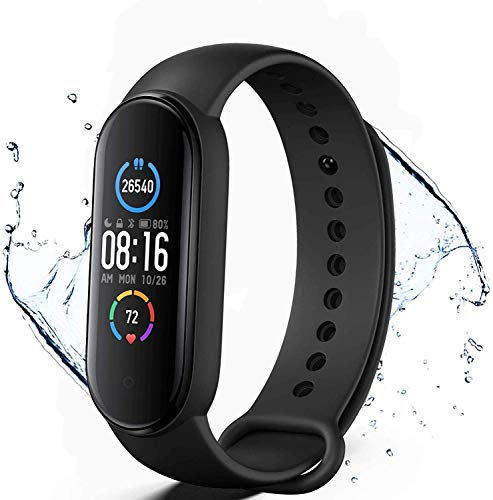 Pulsera de Actividad física M5,Reloj Inteligente con Oxígeno...