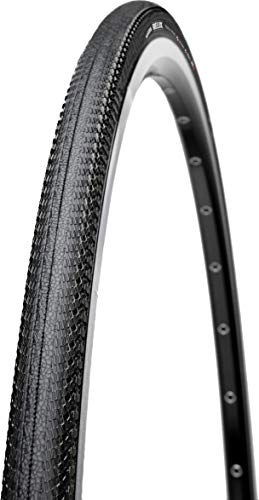 Maxxis Relix Dual Compound Silk Shield Folding Bead 170TPI Clincher Bicycle Tire (Black - 700 x 25) by Maxxis