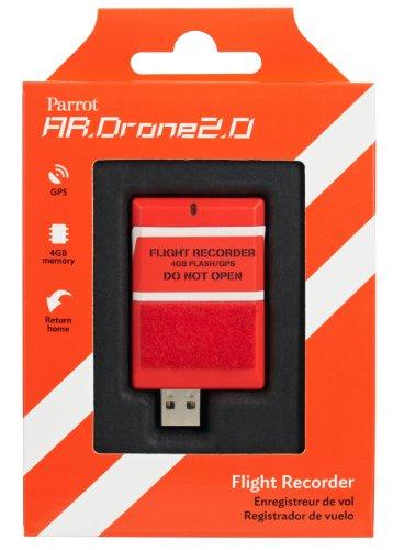 Parrot- Flight Recorder, Colore Arancione, PF070055AA