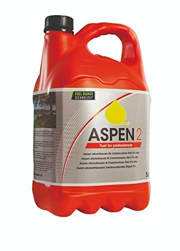 Carburante Husqvarna ASPEN DA 5 LITRI - MISCELA 2 TEMPI per Motosega, Decespugliatore