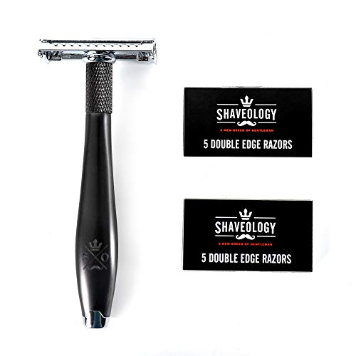Double Edge Safety Razor Kit - Butterfly...