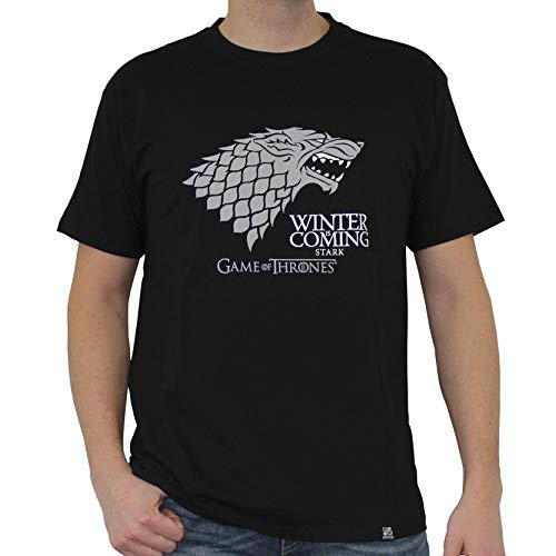 ABYstyle ABYstyleABYTEX221-Sabysse Game of Thrones - Camiseta básica de Manga Corta para Hombre (Talla pequeña)