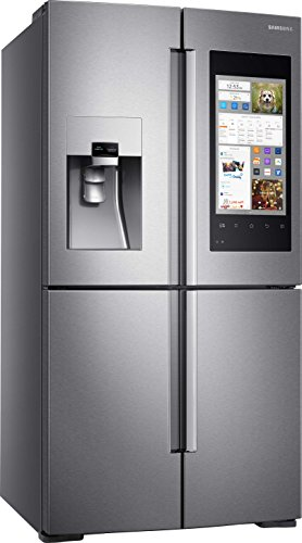 Samsung RF56M9540SR Built-in 550L A+ Stainless steel side-by-side refrigerator - Side-By-Side...