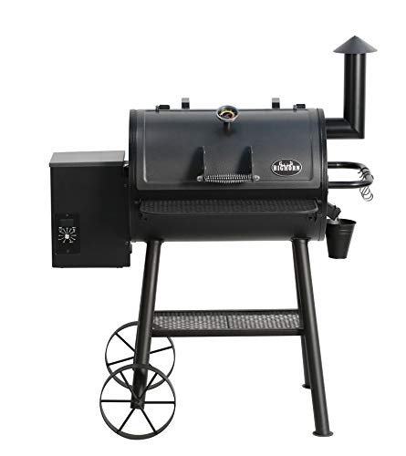 BIG HORN OUTDOORS Wood Pellet Grill & Smoker, BBQ Grill with Digital Auto Temperature Control and Temperature Gauge, 700 sq inch Cooking Area