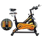 gridinlux. Trainer Alpine 8500. Bicicleta estática Ciclo Indoor Spinning. Volante de Inercia...