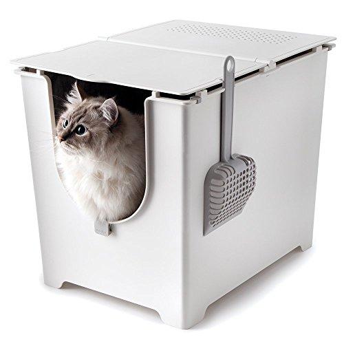 Modkat | Flip kattenbak | Bevat schepje en herbruikbare zeilvoering