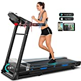 Treadmill,Treadmills for Home with Automatic Incline,3.25HP APP Control Folding Treadmills...