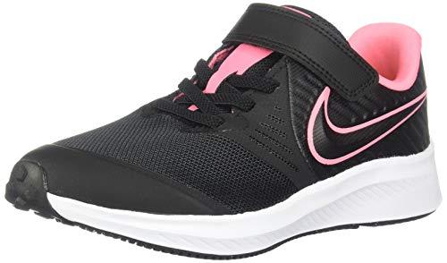 Nike Star Runner 2 (PSV), Zapatillas de Running, Negro (Black/Sunset Pulse/Black/White 002), 31 EU